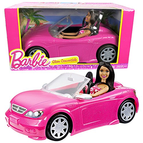 Barbie Convertible /& Doll Pack