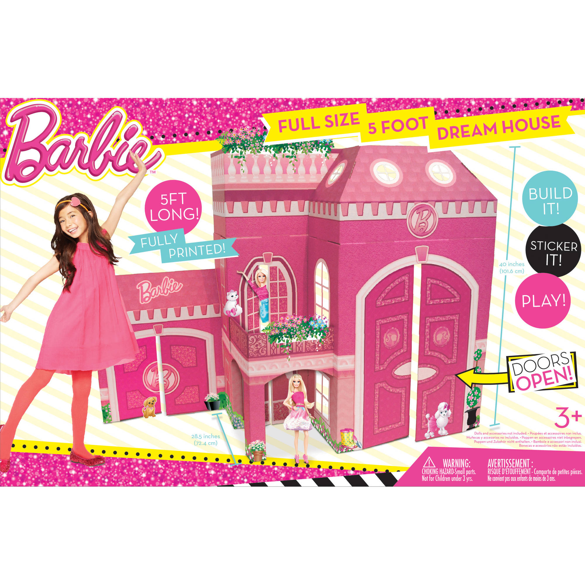 Barbie Dream House Doll House Neat Oh Full Size 5 Foot Play