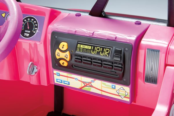 Power Wheels Disney Minnie Mouse Jeep 12-Volt Battery-Powered Ride-On