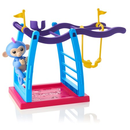Fingerlings Interactive Monkey Bar Playset By WowWee